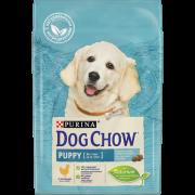 Сухой корм Dog Chow puppy для щенков, курица