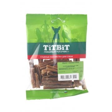 Лакомство TiTBiT кишки говяжьи мини мягкая упаковка для собак