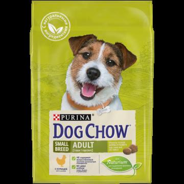 Сухой корм Dog Chow adult для собак мелких пород курица