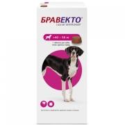 Препарат Intervet Бравекто 1400мг от блох и клещей для собак 40-56кг 1таб. (12 н...
