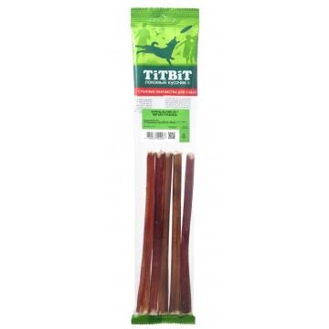 Лакомство TiTBiT для собак корень бычий (3*30см) (мягкая упаковка)