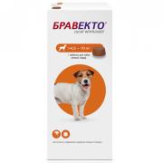 Препарат Intervet Бравекто 250мг от блох и клещей для собак 4,5-10кг 1таб. (12 н...
