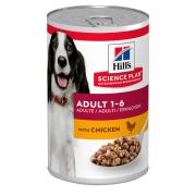 Hill's Science Plan Advanced Fitness консервы с курицей для взрослых умеренно ак...