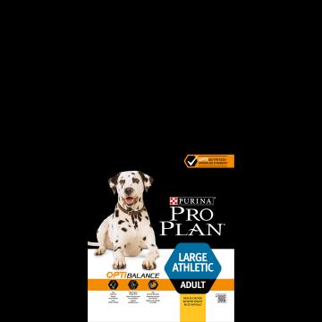 Сухой корм Pro Plan для взрослых собак крупных пород атлетического телосложения, курица+рис