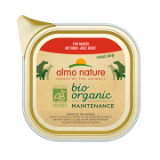 Консервы Almo Nature Biorganic with Beef Био-меню паштет с говядиной для собак 1...