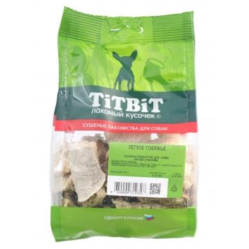 Лакомство TiTBiT для собак легкое говяжье (мягкая упаковка)