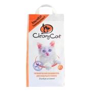 Минеральный впитывающий наполнитель CleanyCat 4.5л универсальный для кошек (2.7к...