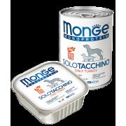Monge Dog Monoproteico Solo консервы для собак паштет из индейки...