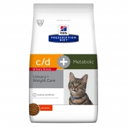 Сухой корм Hill's Prescription Diet Metabolic + Urinary + Stress Feline при избы...