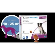 Таблетки Merial Фронтлайн НексгарД жевательные (4 недели), для собак 10,1-25 кг ...