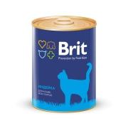 Консервы Brit Premium индейка консервы для кошек 340г...