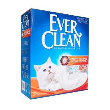 """Минеральный комкующийся наполнитель Ever Clean """"Fast Acting"""" для кошек"""