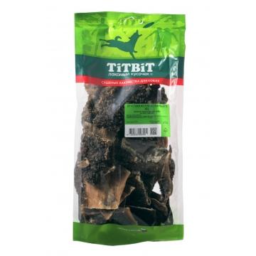 Лакомство TiTBiT для собак хрустики из рубца говяжьего XXL (мягкая упаковка)