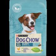 Сухой корм Dog Chow Puppy для щенков мелких пород, курица...