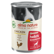 Консервы Almo Nature Holistic Monoprotein Chicken монобелковый рацион с курицей ...