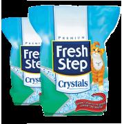 Силикагелевый наполнитель Fresh Step Crystals для кошек...