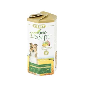 Лакомство TiTBiT Био Десерт печенье с пшеничным зародышем для собак