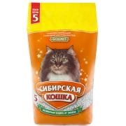 """Минеральный впитывающий наполнитель Сибирская кошка """"Бюджет"""" для кошек..."""