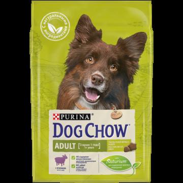 Сухой корм Dog Chow Adult для взрослых собак, ягнёнок