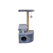 Домик RP8102 когтеточка 3-х уровневый угловой для кошки 36*49*96...