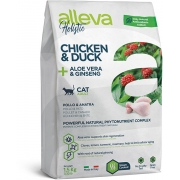 Сухой корм ALLEVA HOLISTIC CAT ADULT CHICKEN AND DUCK для кошек с курицей и утко...