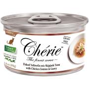 Консервы Pettric Cherie 80гр для кошек Тунец с курицей в подливе...