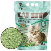 Наполнитель соевый комкующийся Cat Step Tofu Green Tea с ароматом зеленого чая...