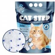 Силикагелевый наполнитель Cat Step для кошек