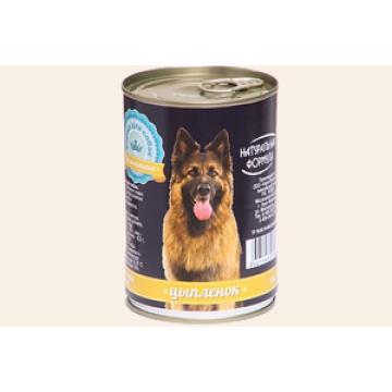 """Консервы Натуральная формула """"Цыпленок"""" для собак, 410г"""