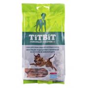 Лакомство TiTBiT Хрустящие подушечки с начинкой со вкусом ягненка и сыра для соб...