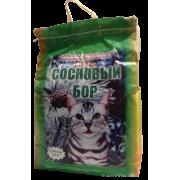 Древесный наполнитель Сосновый бор универсальный для кошек ...