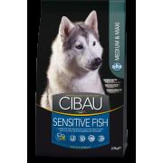 Сухой корм Farmina Cibau Sensitive Maxi and Medium для собак крупных и средних п...