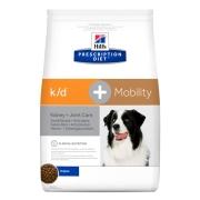 Сухой диетический корм для собак Hill's Prescription Diet k/d, Mobility Kidney, ...