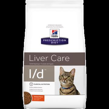 Сухой корм для кошек Hill's Prescription Diet l/d Liver Care при заболеваниях печени, 1,5 кг