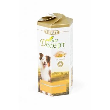 Лакомство TiTBiT Био Десерт печенье с курицей для собак