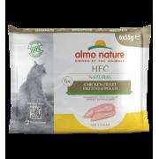 """Влажный корм Almo Nature HFC Mega Pack Natural Chicken Fillet для кошек """"Ку..."""