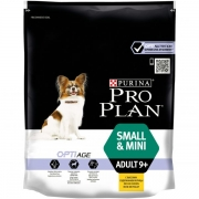 Сухой корм Pro Plan для собак мелких пород старше 9 лет, курица+рис ...