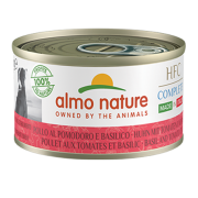 Консервы Almo Nature HFC Complete Made in Italy Basil and Tomato Chicken Итальян...