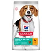 Hill's Science Plan Perfect Weight сухой корм для собак, склонных к набору веса ...