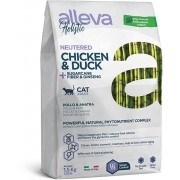Сухой корм ALLEVA HOLISTIC CAT NEUTERED для стерилизованных кошек...