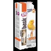 Дополнительная кормовая смесь LoLo Pets Smakers с ракушками для канареек, 60 гр...