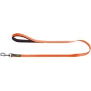 Поводок Hunter для собак Convienience 15/120 биотановый оранжевый неон...