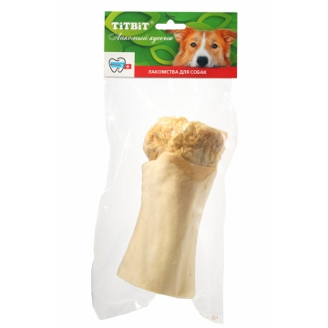 Лакомство TiTBiT для собак голень говяжья (мягкая упаковка)