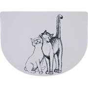 "Коврик под миску для кошки Trixie ""Pussy cats"""