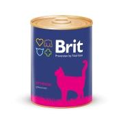 Консервы Brit Premium ягненок консервы для котят 340г...