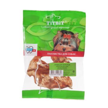 Лакомство TiTBiT гребешки куриные (мягкая упаковка)