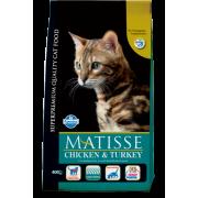 Сухой корм Farmina Matisse курица с индейкой для кошек...