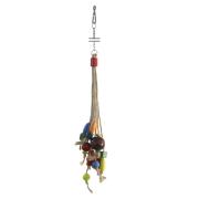 Игрушка для птиц Triol Бусины на веревочке 25*6см...