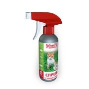 Спрей Ms.Kiss репеллентный от блох, клещей, комаров для кошек (200мл)...