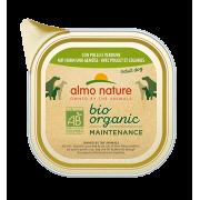 Консервы Almo Nature Biorganic with Chicken and Vegetables Био-меню паштет с кур...